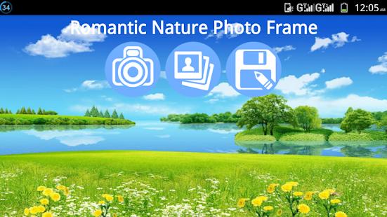 Romantic Nature Photo Frame - náhled