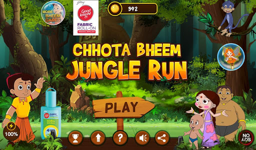 Chhota Bheem Jungle Run  captures d'écran 1