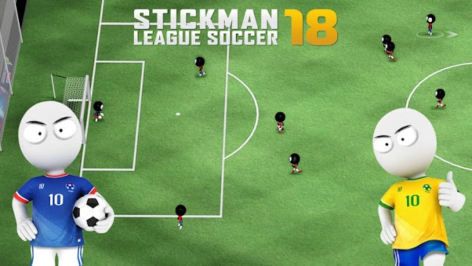 Stickman League Soccer 2018 Android 1