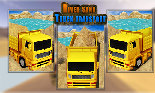 Sand-Transport-Truck-Simulator 6