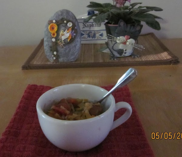 Serve up a bowl of the stew and accompany with a corn muffin or...