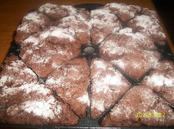 Chocolate Chocolate-chip Scones Recipe