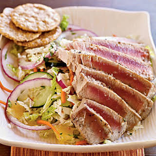 Pan-Grilled Thai Tuna Salad.