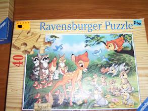 Photo: gewone puzzle voor klein en groot