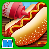 Street Food Maker Cooking Game - Fast Food