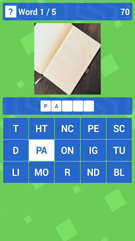 android 1 Clue 1 Word - Syllables Screenshot 0
