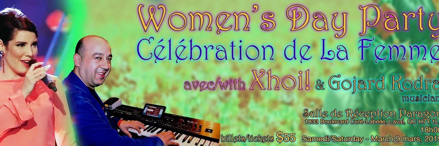 Women's Day Party - Célébration De La Femme!