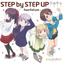 New Game!! OP Single – STEP by STEP UP↑↑↑↑