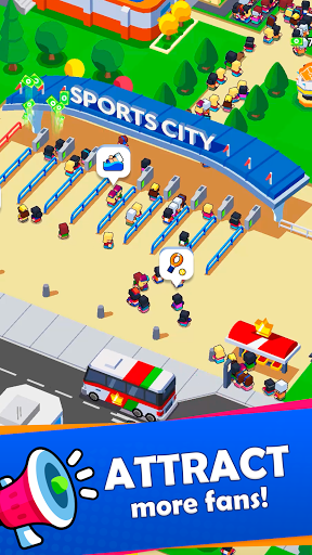 Idle Sports City Tycoon Game: Build a Sport Empire apkpoly screenshots 8