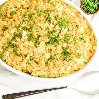 Crunchy Turkey Casserole.