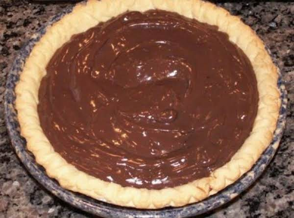 Julia's Chocolate Pie Recipe