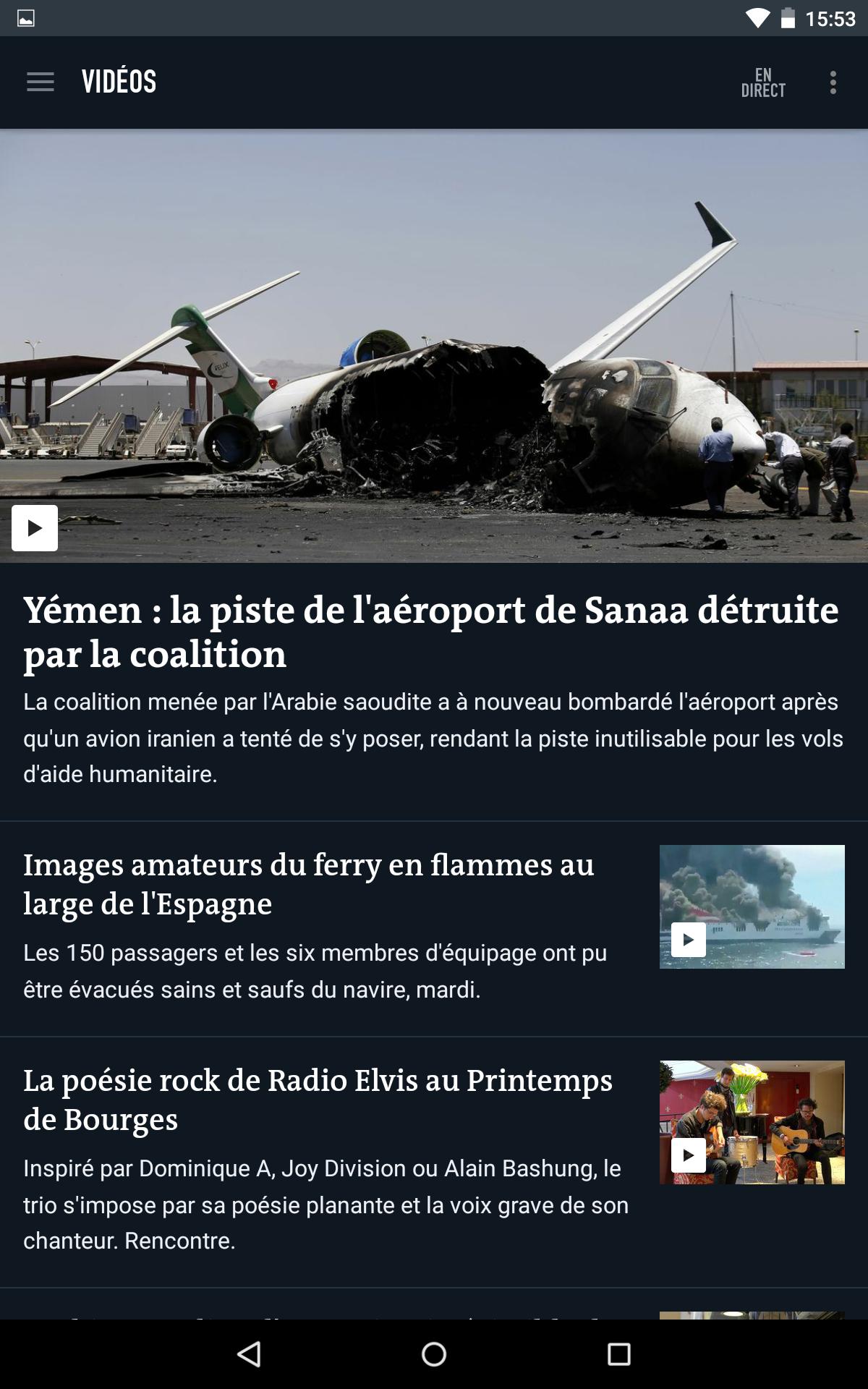 Le Monde, l'info en continu screenshot #20