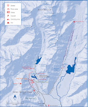 Photo: Here's the park map from the DOC brochure, which is available from this page: http://www.doc.govt.nz/parks-and-recreation/national-parks/aoraki-mount-cook/activities/