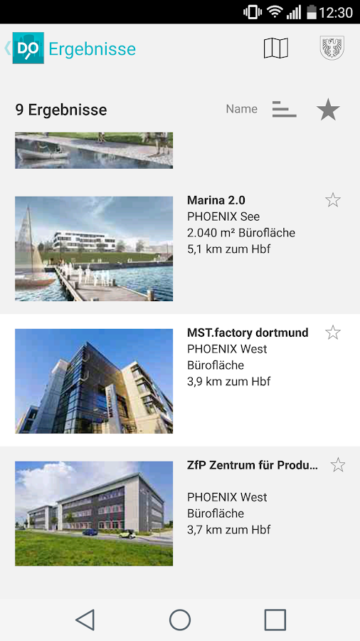 Dortmunder Immobilien App 4.0- screenshot