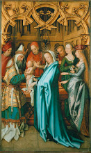 Photo: Hans Holbein El Viejo, Kaisheim Altar; Presentation of Christ in the Temple, 1502