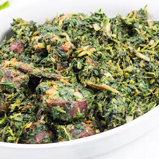 African Stewed Spinach.
