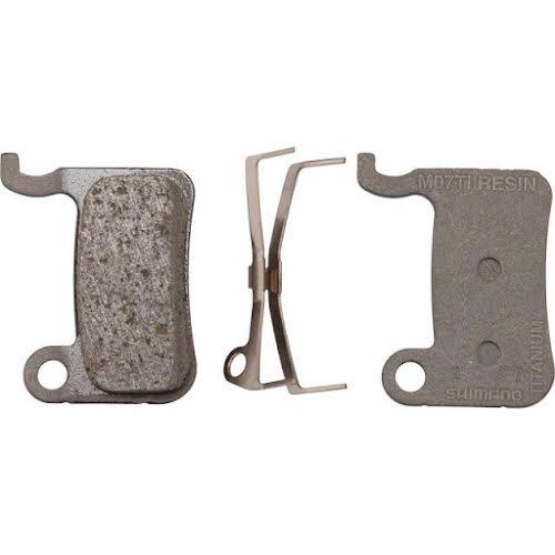 Shimano M07 Ti Resin Disc Brake Pads and Spring