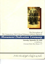 Photo: Ceremony program cover page