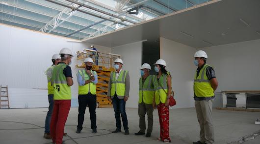 Avanzan las obras de la nueva planta de La Unión Nice en Adra