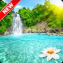 Beautiful Waterfall Wallpaper icon