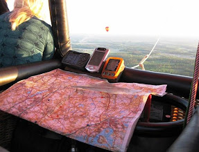 Photo: Navigointilaitteita