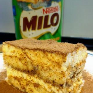 Eggless Milo-tiramisu