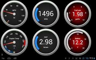 Screenshot of OBD Fusion (Car Diagnostics)