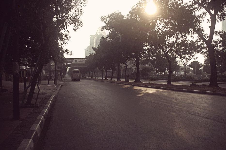Bis terkahir saat Jakarta Sepi