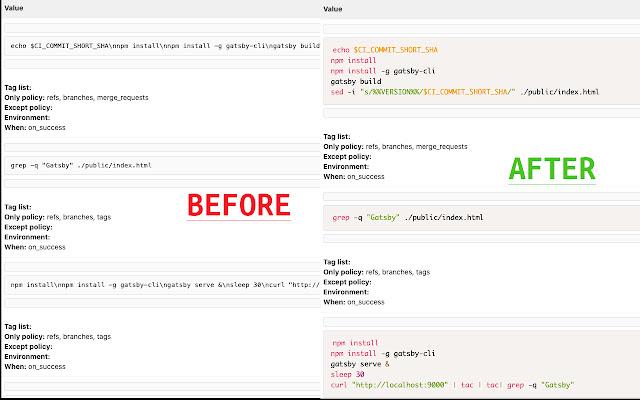 GitLab CI Lint - UI Enhancer