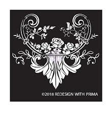 Prima Redesign Adhesive Silk Screen Stencil - Provence Rose