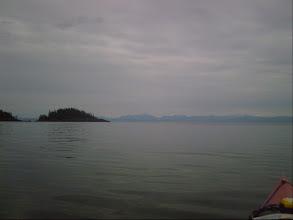 Photo: Daedalus Passage and Queen Charlotte Strait.