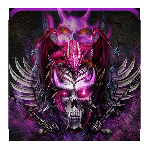 Hell skull demon dragon theme