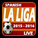 Spanish La Liga 2015 2016 Live icon