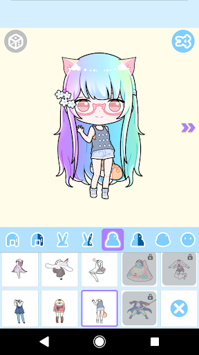 Cute Avatar Maker: Make Your Own Cute Avatar 2.0.2 Screenshots 4