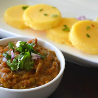 Pav Bhaji With Gluten Free Polenta Brioche Buns [Vegan, Gluten-Free]