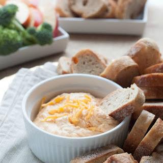 Healthy 3-Ingredient Spicy Cheddar Cheese Dip.