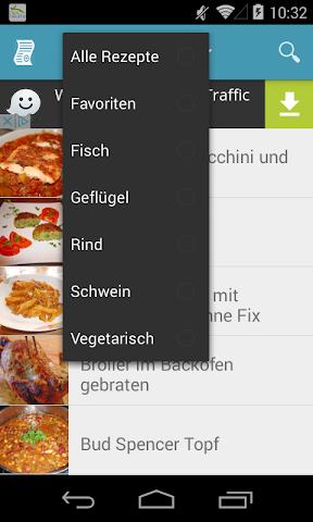 android Einfache & Schnelle Rezepte Screenshot 0