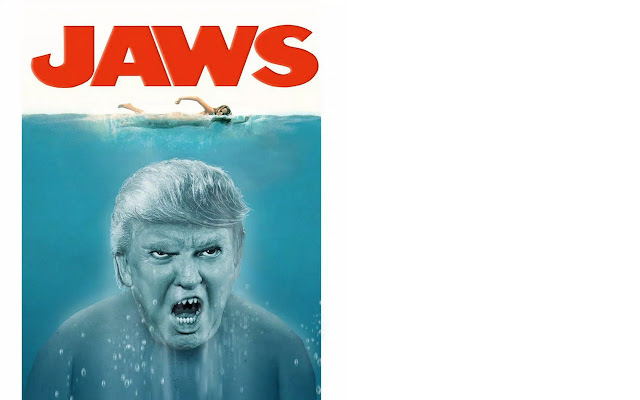 Donald Trump to the Music of 'Jaws'