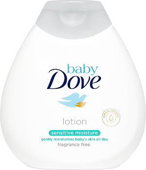 Baby Dove Sensitive Moisture Fragrance Free Lotion - 200ml