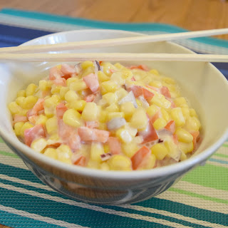 Sweet Corn Salad Mayonnaise Recipes.