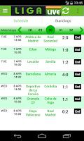 Screenshot of Liga Live