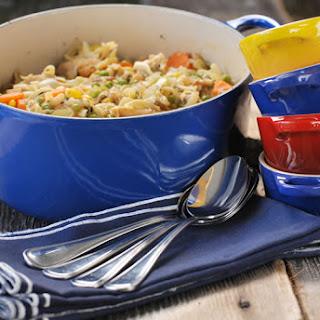 Roast Chicken Noodle Soup