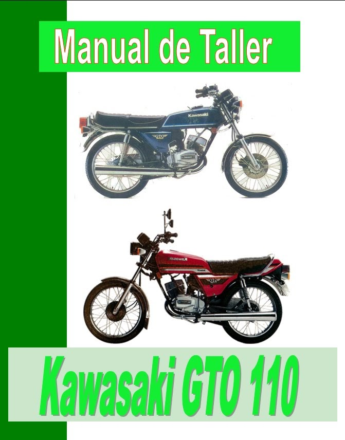 Kawasaki GTO 100-manual-taller-despiece-mecanica