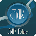 3K SR BLUE - Icon Pack