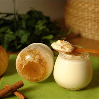 Cinnamon and Apple Yogurt.