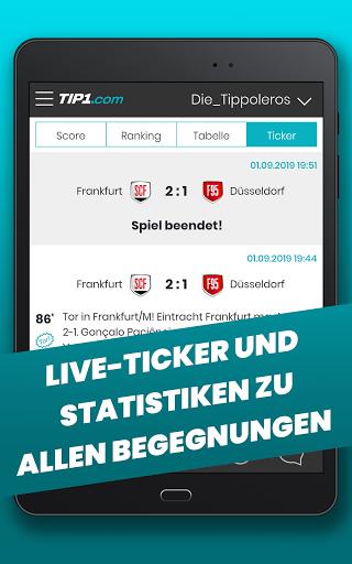 TIP1.com Tippspiel-App  screenshots 20