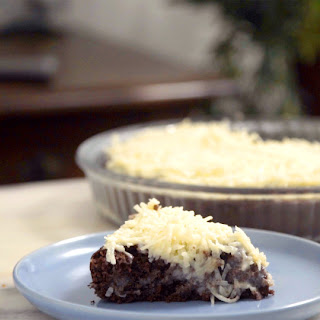 Chocolate Coconut Cake.
