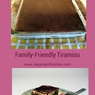 Family-Friendly Tiramisu