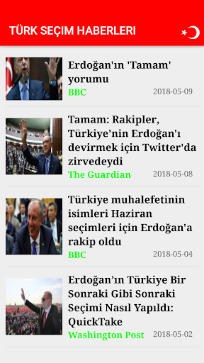 Türk Seçim Haberleri