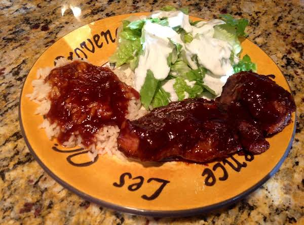 Oven Barbecued Country Style Boneless Ribs Recipe
